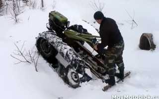 Снегоход своими руками за два выходных