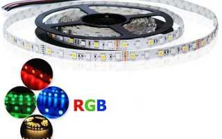 Что такое rgb лента