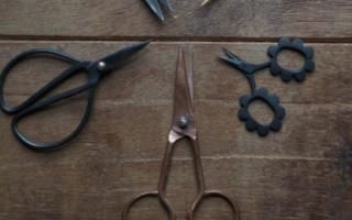 Как правильно заточить ножницы видео
