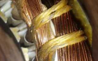 Схема подключения двигателя с двумя обмотками