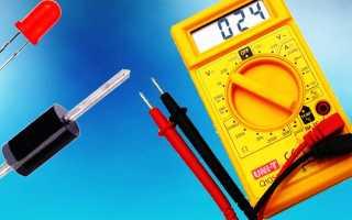 Как прозвонить светодиодную ленту мультиметром