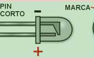 Как узнать вольтаж светодиода мультиметром