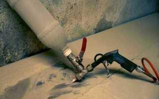 Как изготовить пескоструйный аппарат своими руками