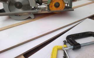 Как распилить столешницу электролобзиком