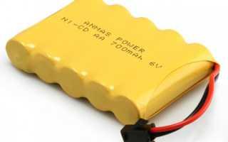 Сколько заряжать никель кадмиевые аккумуляторы