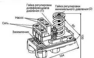 Как установить реле давления на компрессор