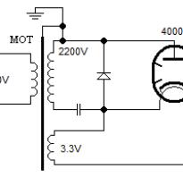 Мощность трансформатора микроволновой печи