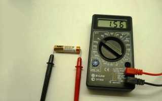 Как проверить заряд батарейки дюрасел