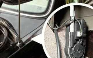 Активная автомобильная антенна своими руками
