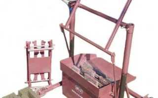 Самодельный станок для изготовления шлакоблоков