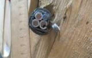Правила укладки кабеля в траншее