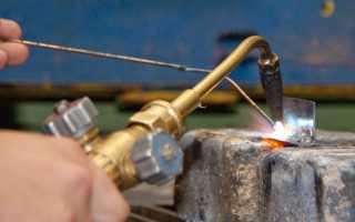 Разновидности процессов газовой сварки