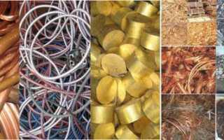 Что такое цветной металл