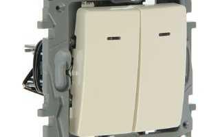 Двойной выключатель легранд схема подключения