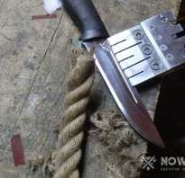 Как узнать угол заточки ножа