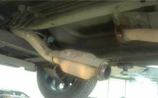 Чем заделать глушитель автомобиля без сварки