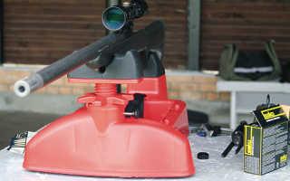 Самодельный пристрелочный станок для карабина
