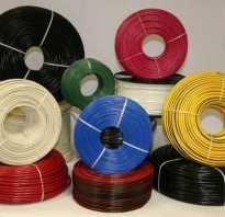 Сечение кабеля в зависимости от мощности