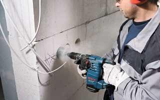 Штробление стен перфоратором под проводку видео