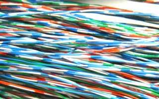 Как правильно сматывать кабель
