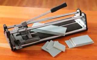 Как отрезать плитку дома