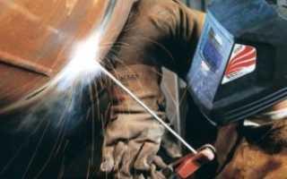 Правила сварки металла электродом