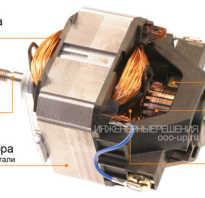 Принцип работы универсального коллекторного двигателя
