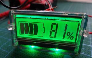 Как измерить заряд аккумулятора мультиметром