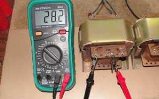 Как проверить трансформатор тока на исправность