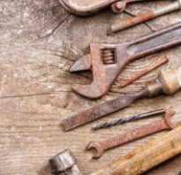 Как очистить гаечные ключи от ржавчины