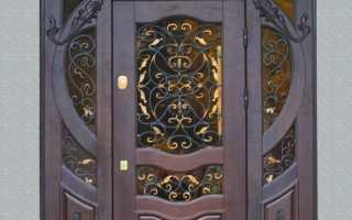 Кованые входные двери для частного дома фото