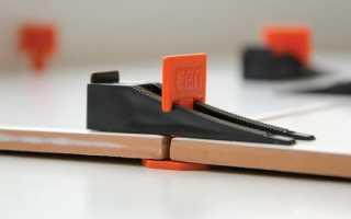 Клинья для укладки плитки как использовать