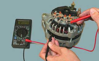 Как правильно проверить генератор мультиметром