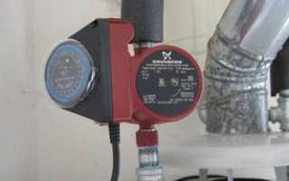 На какой скорости включать насос отопления