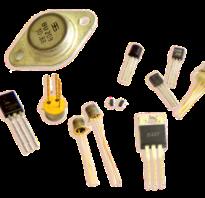 Какие бывают транзисторы по виду