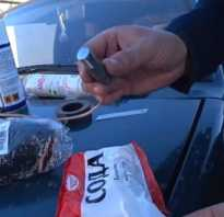 Оцинковка кузова автомобиля своими руками батарейкой