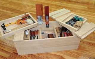 Чертежи ящика для инструментов